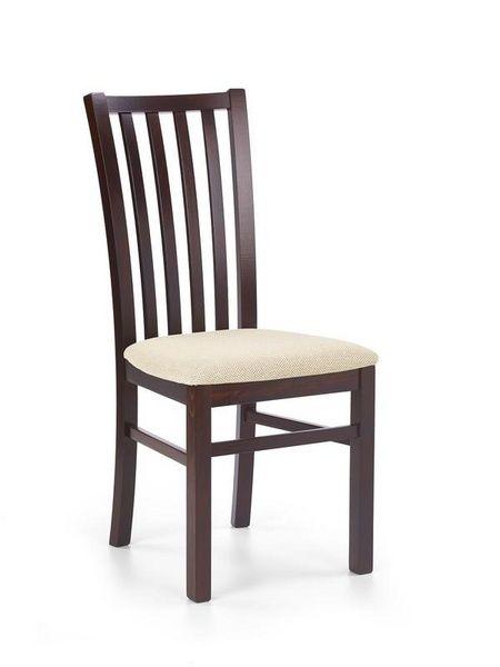 Halmar Dřevěná židle Gerard 7 barva tmavý ořech