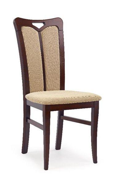 Halmar Dřevěná židle Hubert 2 barva tmavý ořech