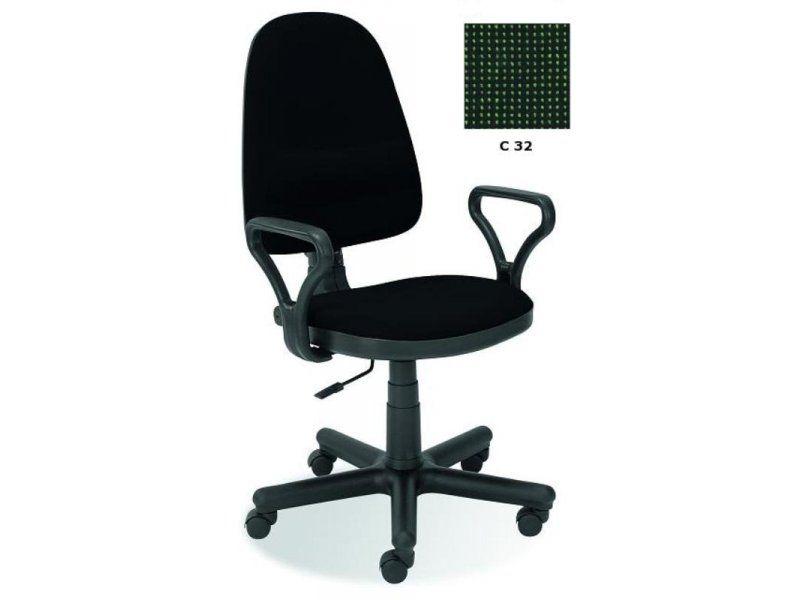 Halmar Kancelářská židle Bravo barva zeleno-černá