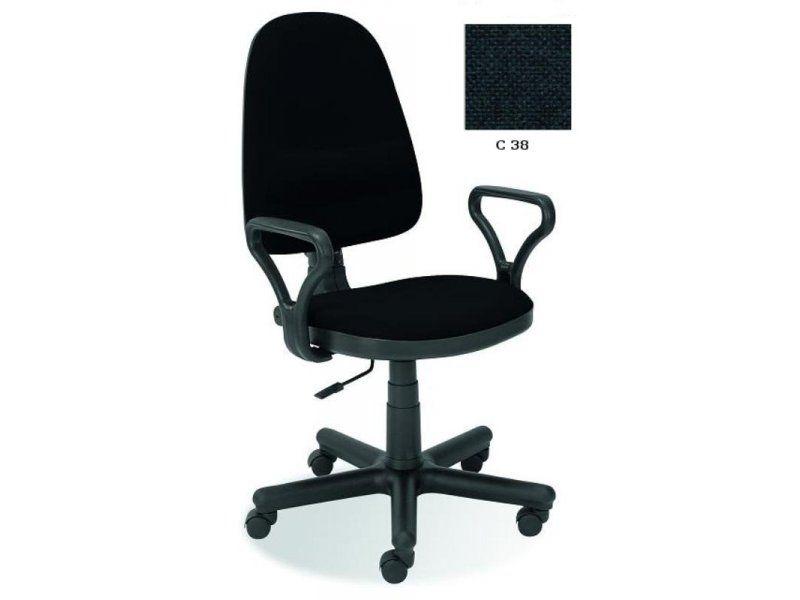 Halmar Kancelářská židle Bravo barva tmavě šedá
