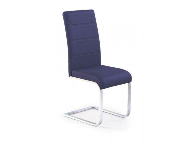 Halmar Kovová židle K85 barva fialová
