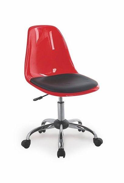 Halmar Dětská židle Coco II barva červená
