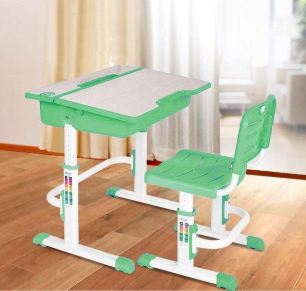 Halmar Dětský psací stůl a židle Astro 2 barva zelená