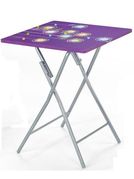 Halmar Dětský stolek Mario barva fialová
