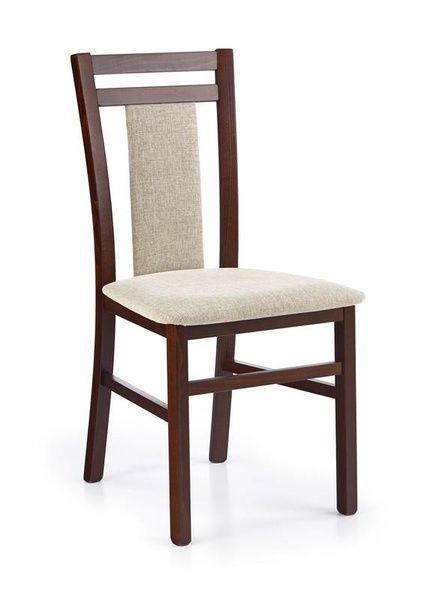 Halmar Dřevěná židle Hubert 8 barva tmavý ořech