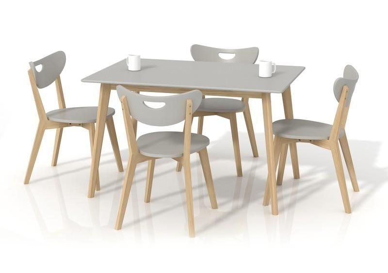 Halmar Jídelní stůl Lorrita barva šedá