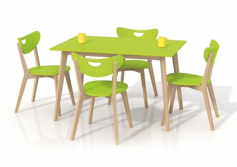 Halmar Jídelní stůl Lorrita barva zelená