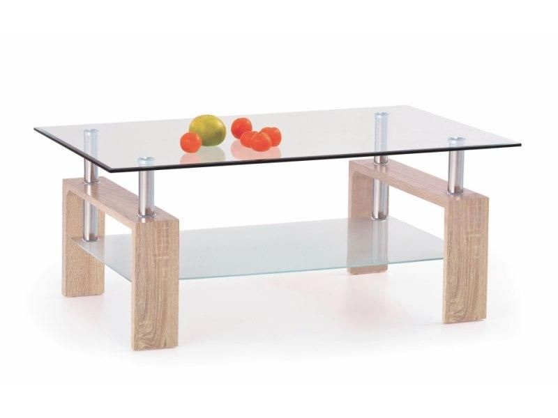 Halmar Konferenční stůl Diana H barva dub sonoma