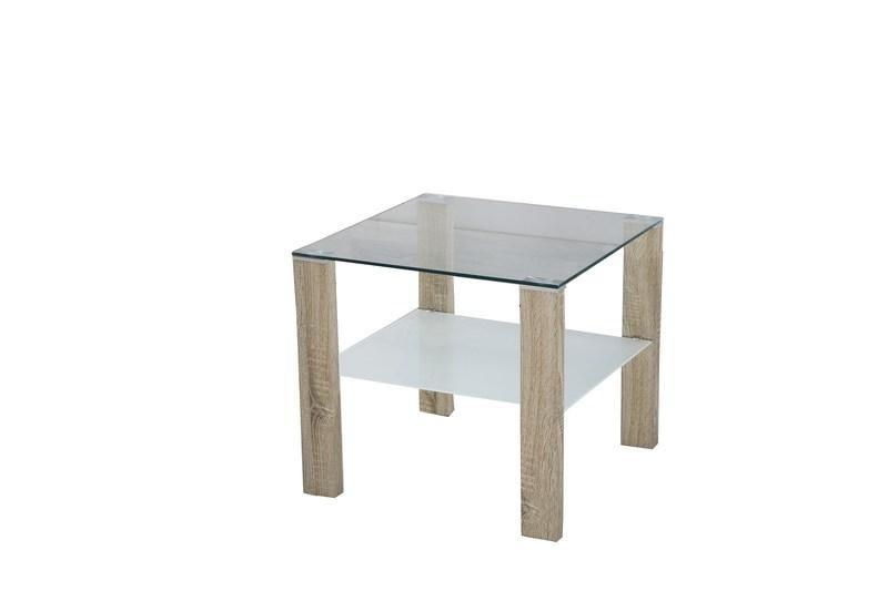 Halmar Konferenční stůl Simple H - čtverec barva dub sonoma
