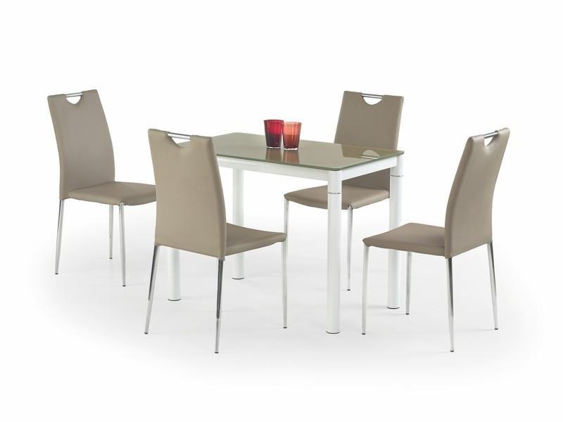 Skleněný stůl Argus barva Béžová