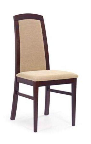 Halmar Dřevěná židle Dominik barva tmavý ořech