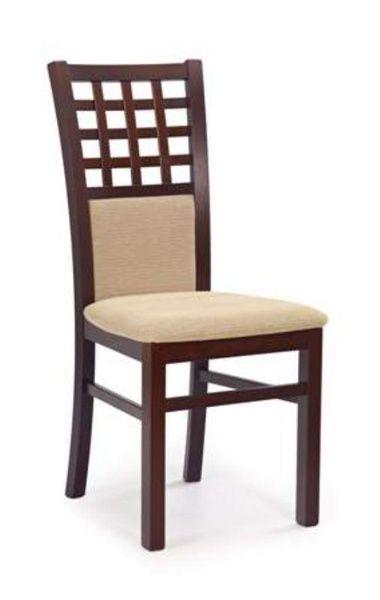 Halmar Dřevěná židle Gerard 3 barva tmavý ořech