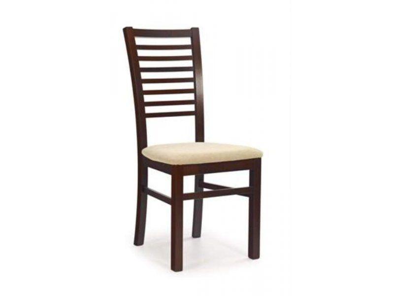 Halmar Dřevěná židle Gerard 6 barva tmavý ořech