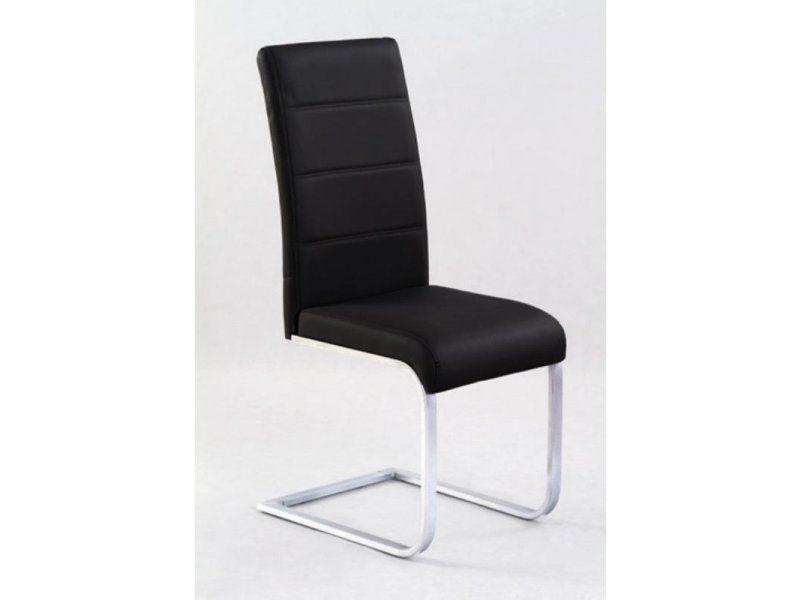 Halmar Kovová židle K85 barva černá