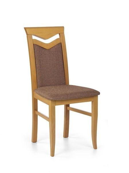 Halmar Dřevěná židle Citrone barva olše