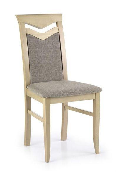 Halmar Dřevěná židle Citrone barva dub sonoma