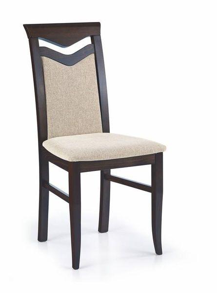 Halmar Dřevěná židle Citrone barva wenge