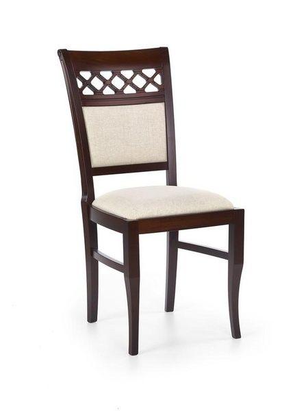 Halmar Dřevěná židle Sebastian 3 barva tmavý ořech