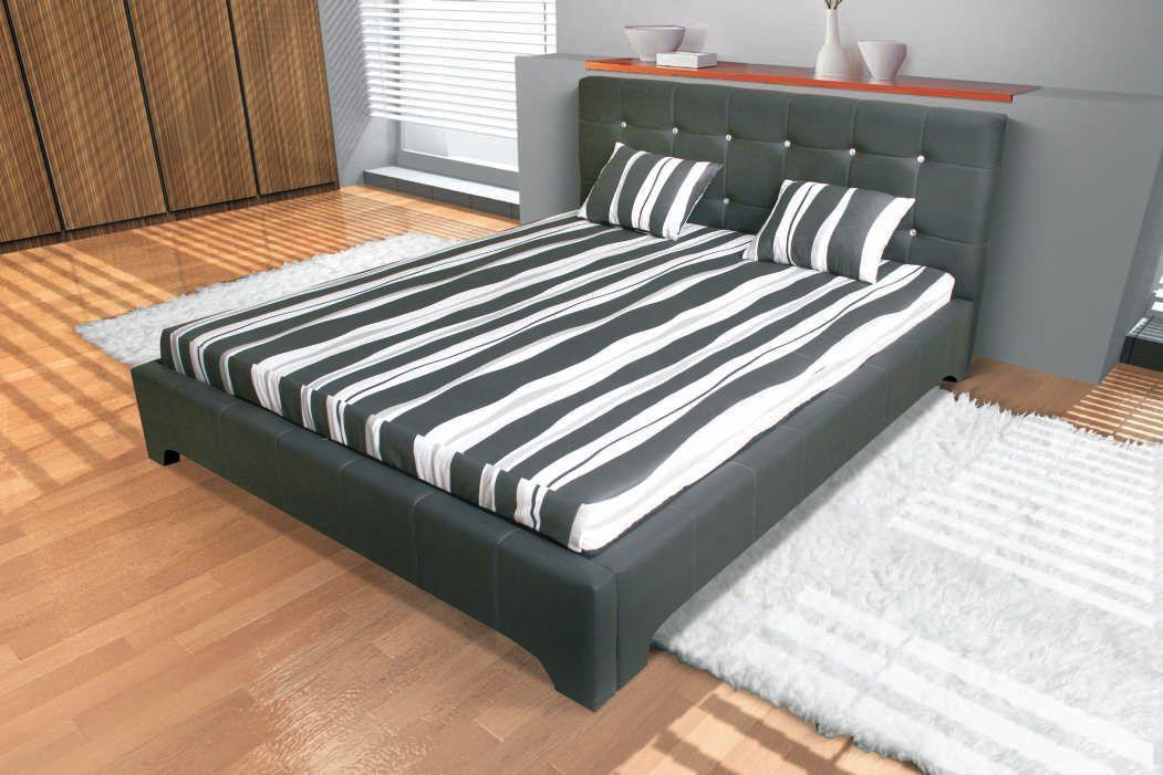 KAROL MEBLE Čalouněná postel ROXI 140x200cm