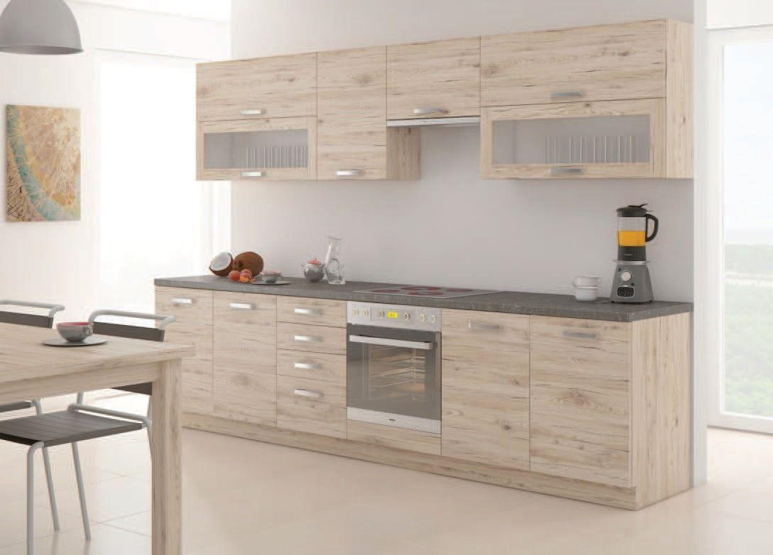 LEMPERT kuchyňská linka BORDEAUX 260 Pracovní deska