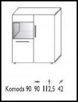 obývací systém NICEA KAROL MEBLE