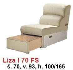 STOLAR rohová sedací souprava LIZA systém LIZA I FS 70