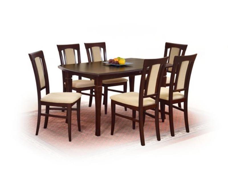 Halmar Dřevěný jídelní stůl Fryderyk 240 cm barva ořech