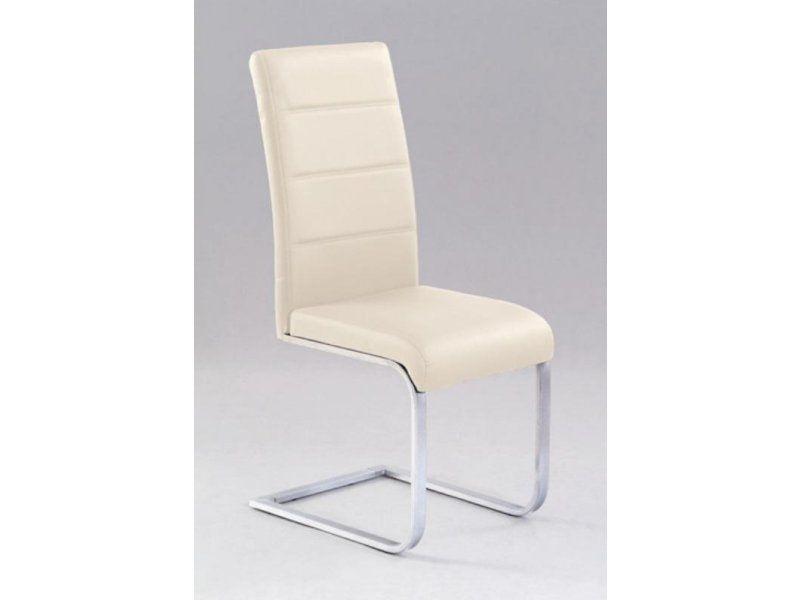 Halmar Kovová židle K85 barva tmavě krémová