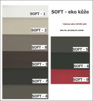 sk:2 - SOFT eko  - rohová sedací souprva BONO