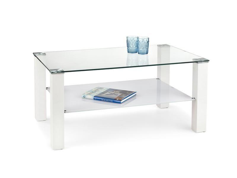 Halmar Konferenční stolek Ventura Law barva bílá