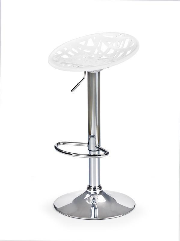 Halmar Barová židle H-56 barva bílá