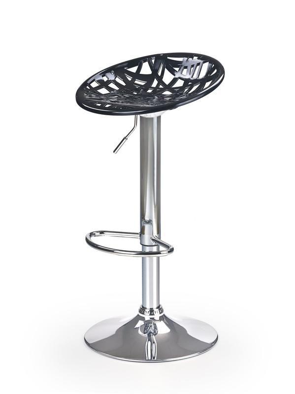 Halmar Barová židle H-56 barva černá