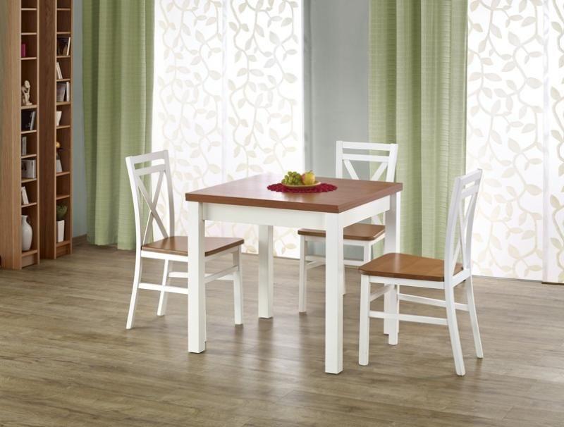 Halmar Dřevěný rozkládací jídelní stůl Gracjan barva olše