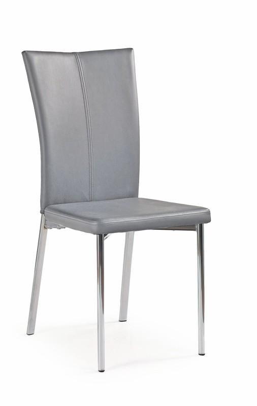 Halmar Kovová židle K113 barva šedá
