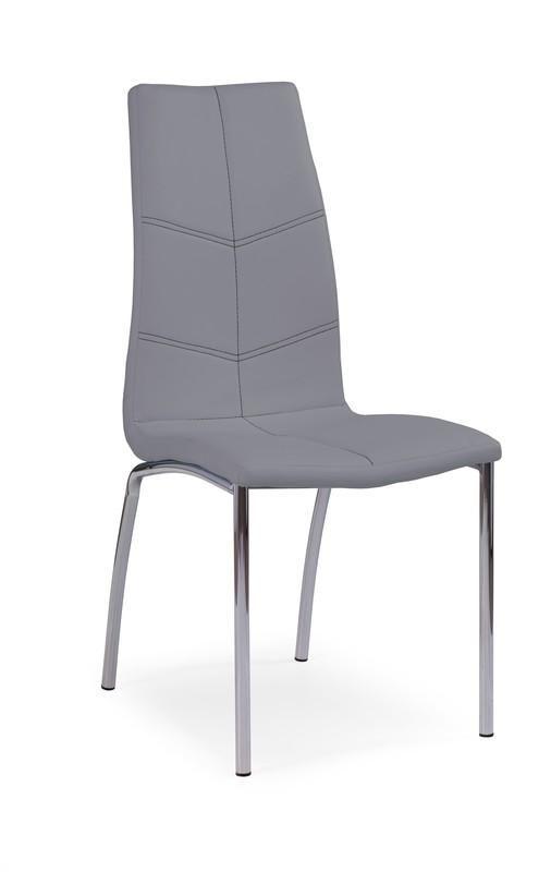 Halmar Kovová židle K114 barva šedá
