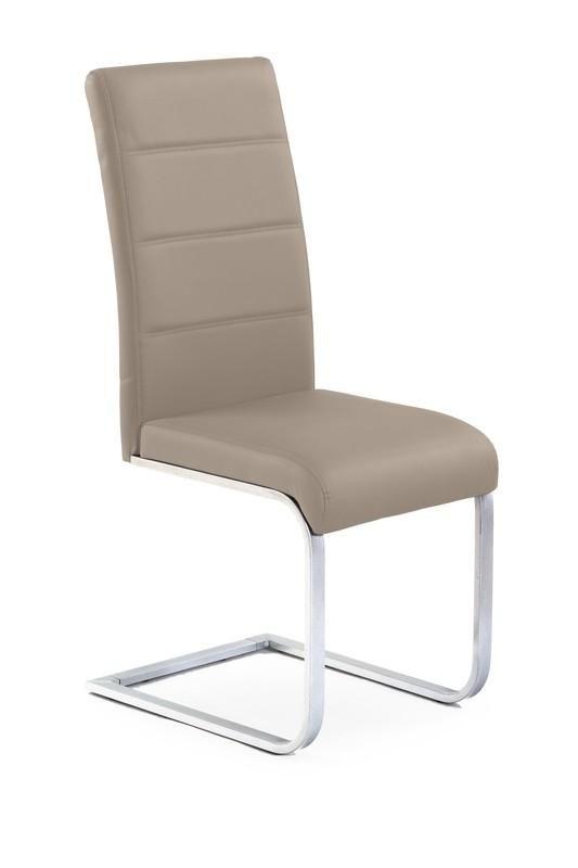 Halmar Kovová židle K85 barva cappuccino