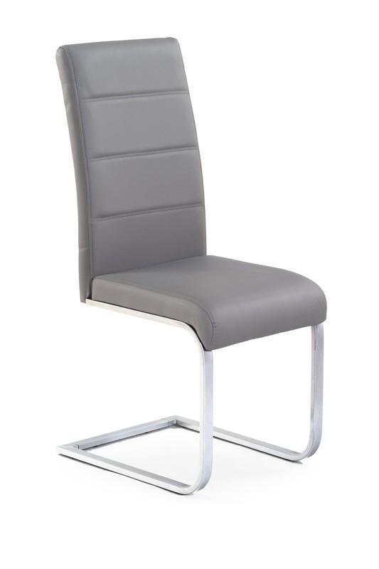 Halmar Kovová židle K85 barva šedá