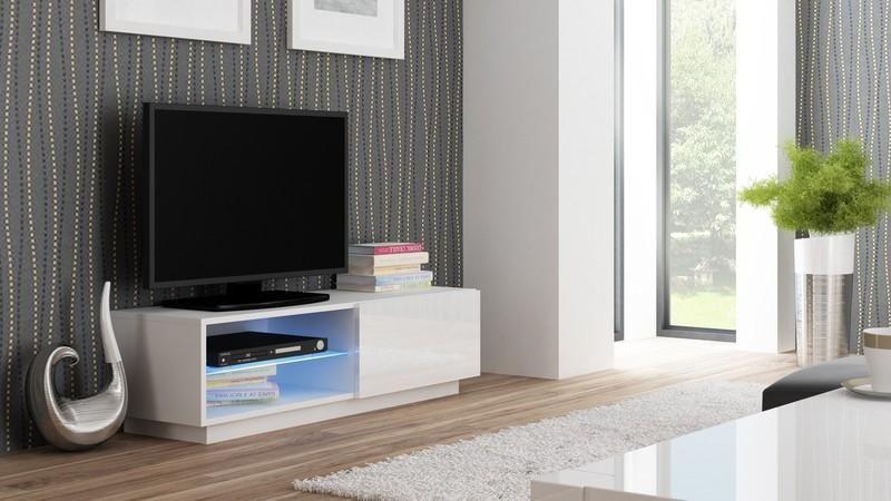 Halmar Televizní stolek Livo RTV-120S barva bílá