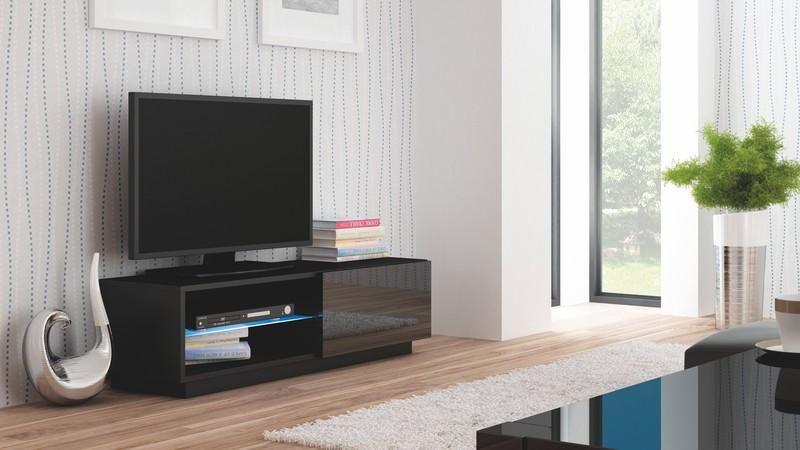 Halmar Televizní stolek Livo RTV-120S barva černá