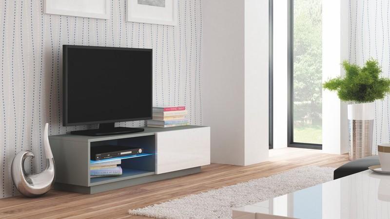 Halmar Televizní stolek Livo RTV-120S barva šedá