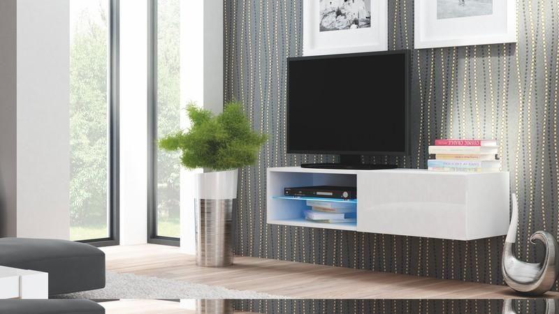 Halmar Televizní stolek Livo RTV 120W barva bílá