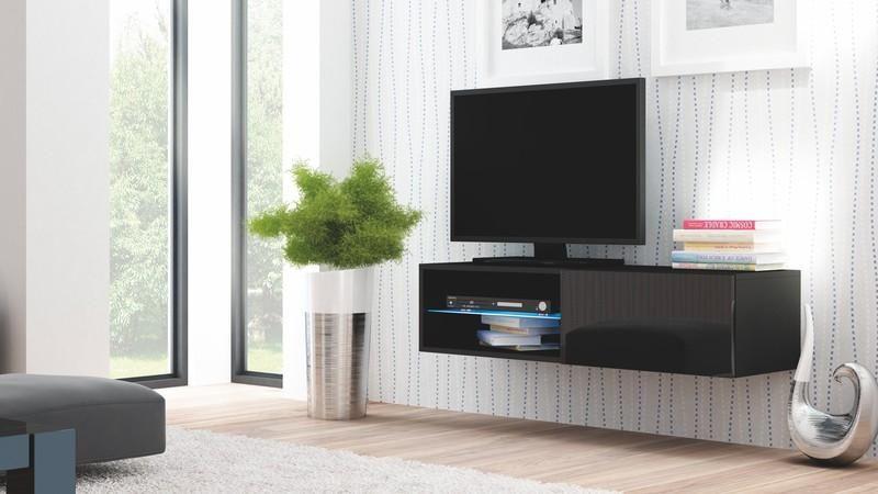 Halmar Televizní stolek Livo RTV 120W barva černá