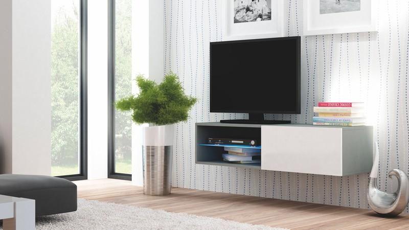 Halmar Televizní stolek Livo RTV 120W barva šedá