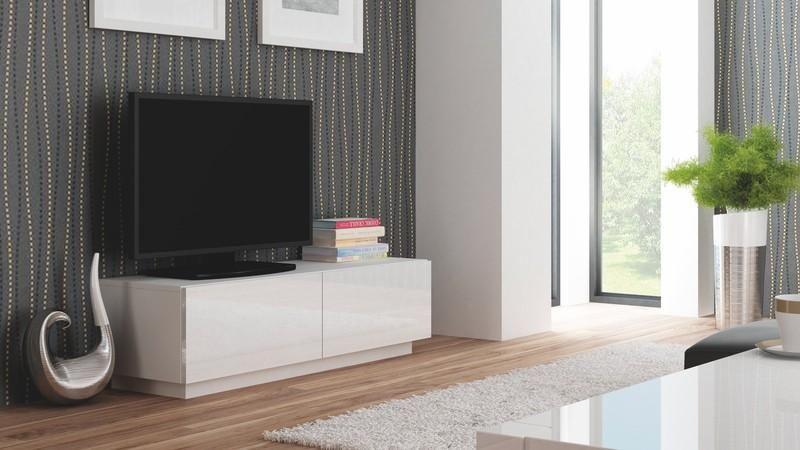 Halmar Televizní stolek Livo RTV-160S barva bílá