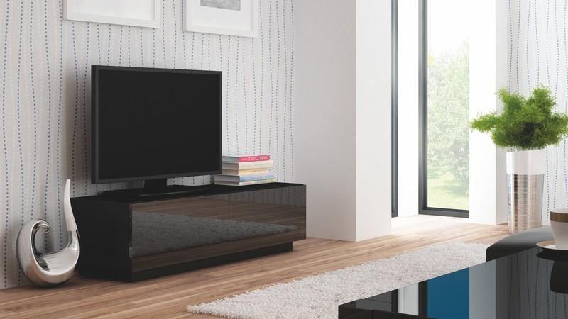 Halmar Televizní stolek Livo RTV-160S barva černá