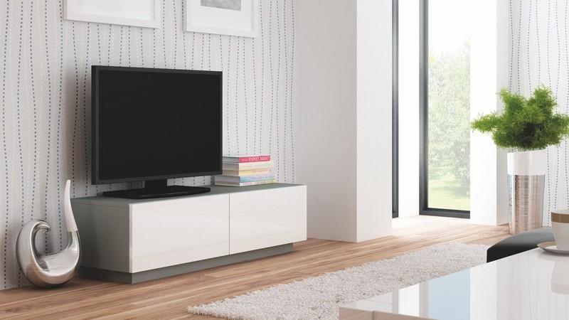 Halmar Televizní stolek Livo RTV-160S barva šedá
