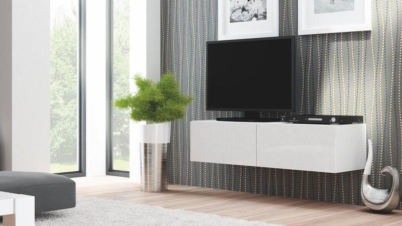 Halmar Televizní stolek Livo RTV-160W barva bílá