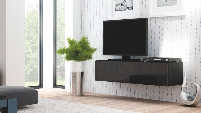 Halmar Televizní stolek Livo RTV-160W barva černá