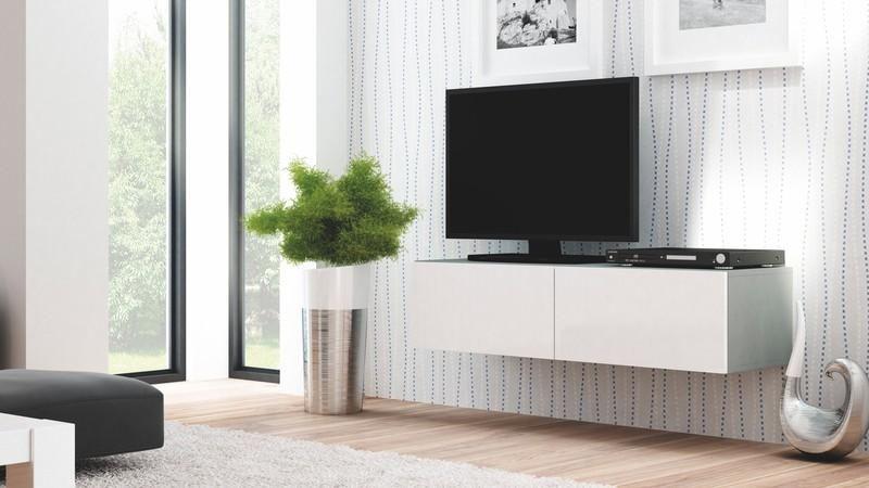Halmar Televizní stolek Livo RTV-160W barva šedá
