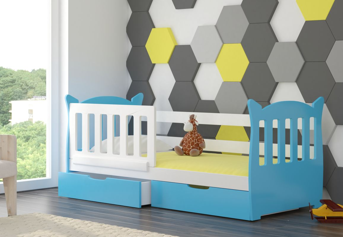 Dětská postel LENA - modrá ADRK